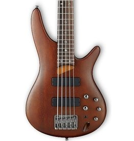Ibanez SR505 5 String Electric Bass-Brown Mahogany