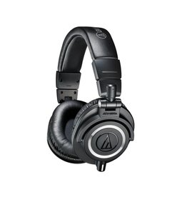 Audio Technica ATH-M50xBK Professional Monitor Headphones-Black