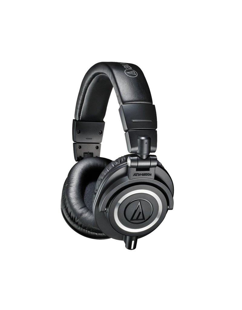 Audio Technica ATH-M50xBK Professional Monitor Headphones-Black
