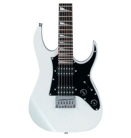 Ibanez Mikro 3/4 Size Electric Guitar GRGM21WH w/Gig Bag-White