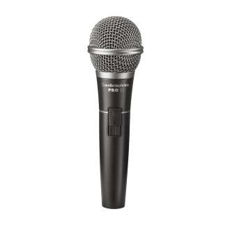 """Audio Technica Includes: Mic, XLR-1/4"""" Cable, Mic Clip, and Carry Bag"""