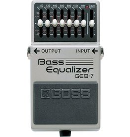 Boss GEB-7 7-Band Graphic Bass Equalizer Pedal