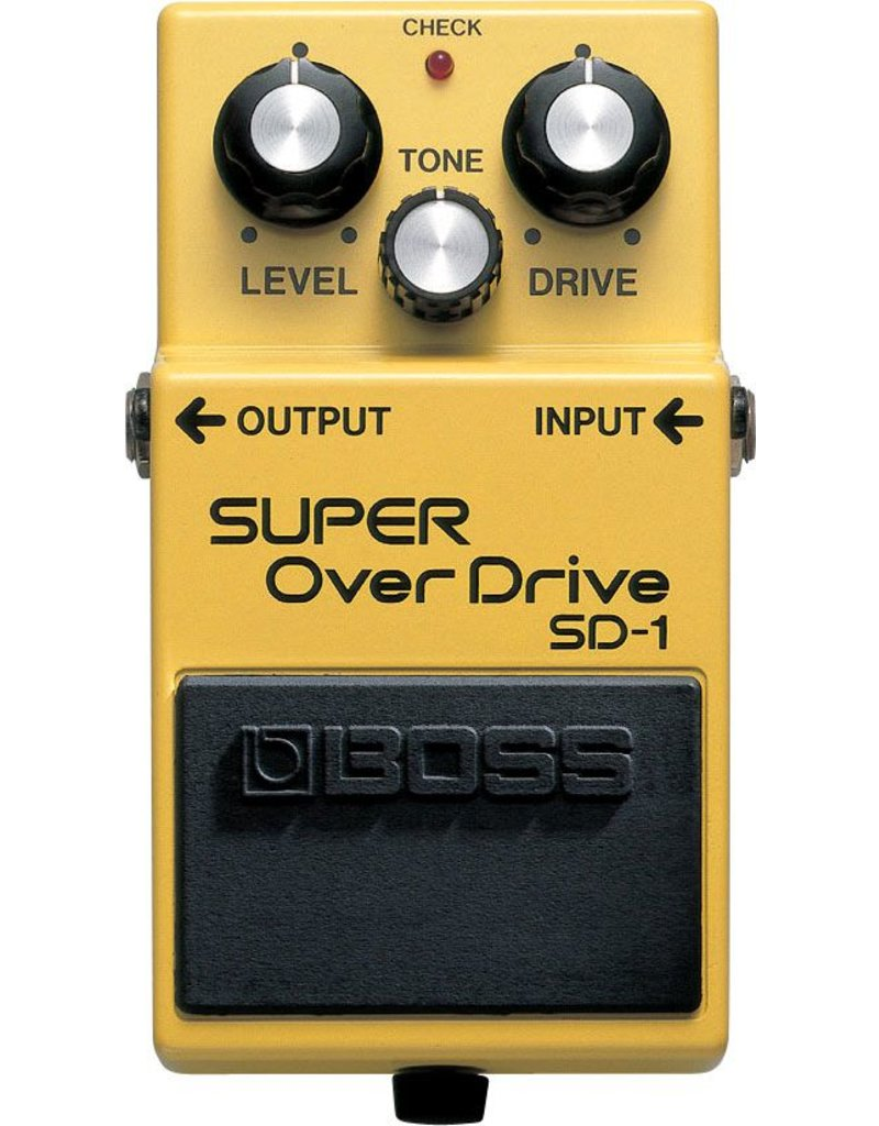 Boss Boss SD-1 Super Overdrive Guitar Effects Pedal