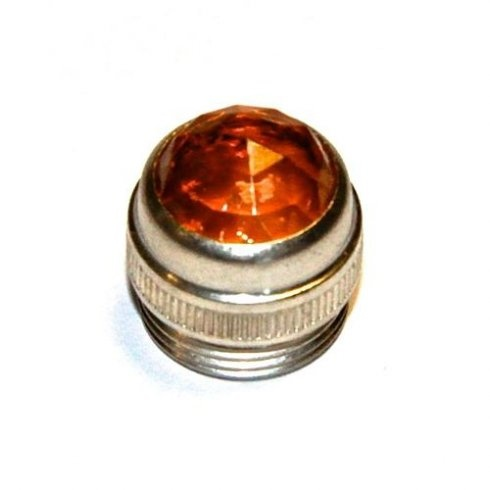 Amplifier Panel Lense/Jewel (2 Pack)-Amber