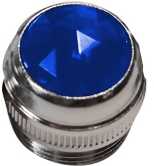 Amplifier Panel Lense/Jewel (2 Pack)-Blue