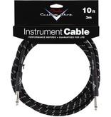 Fender Fender Custom Shop 10' Instrument Cable-Black Tweed