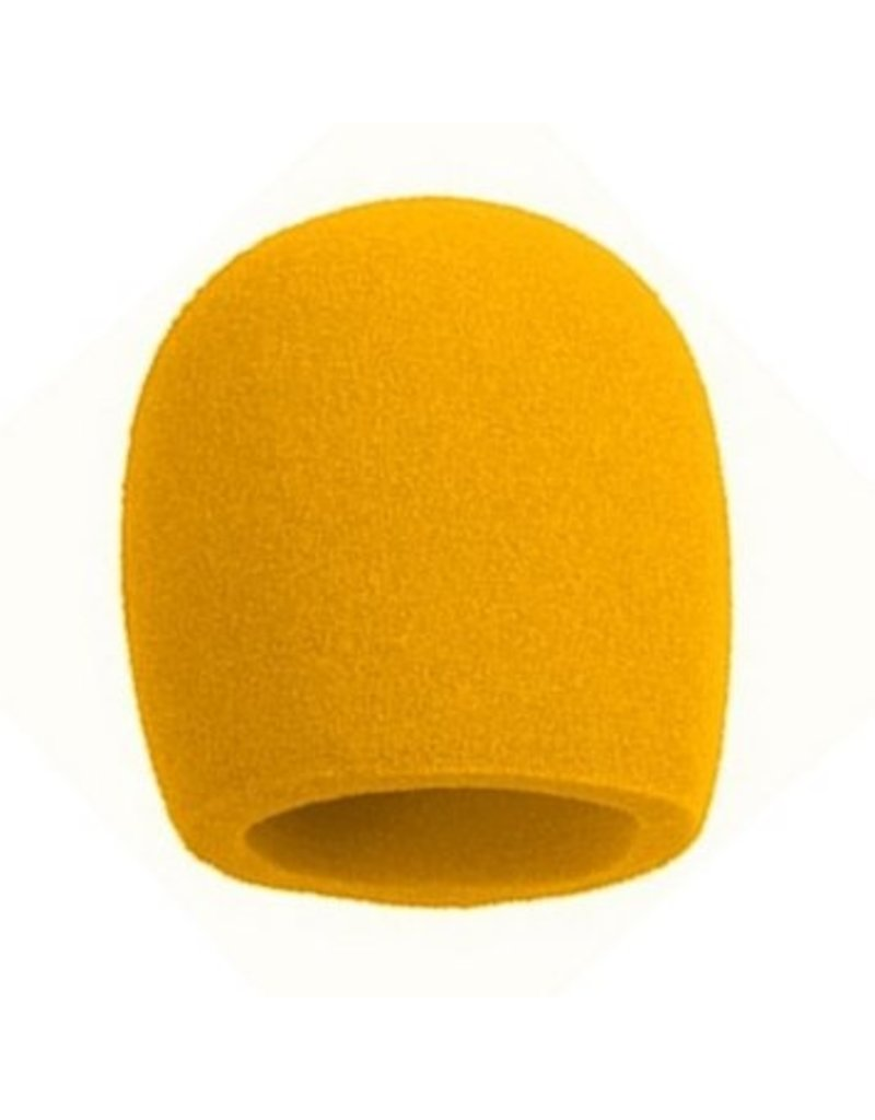 Nomad NMW-J01Y Foam Microphone Windscreen-Yellow