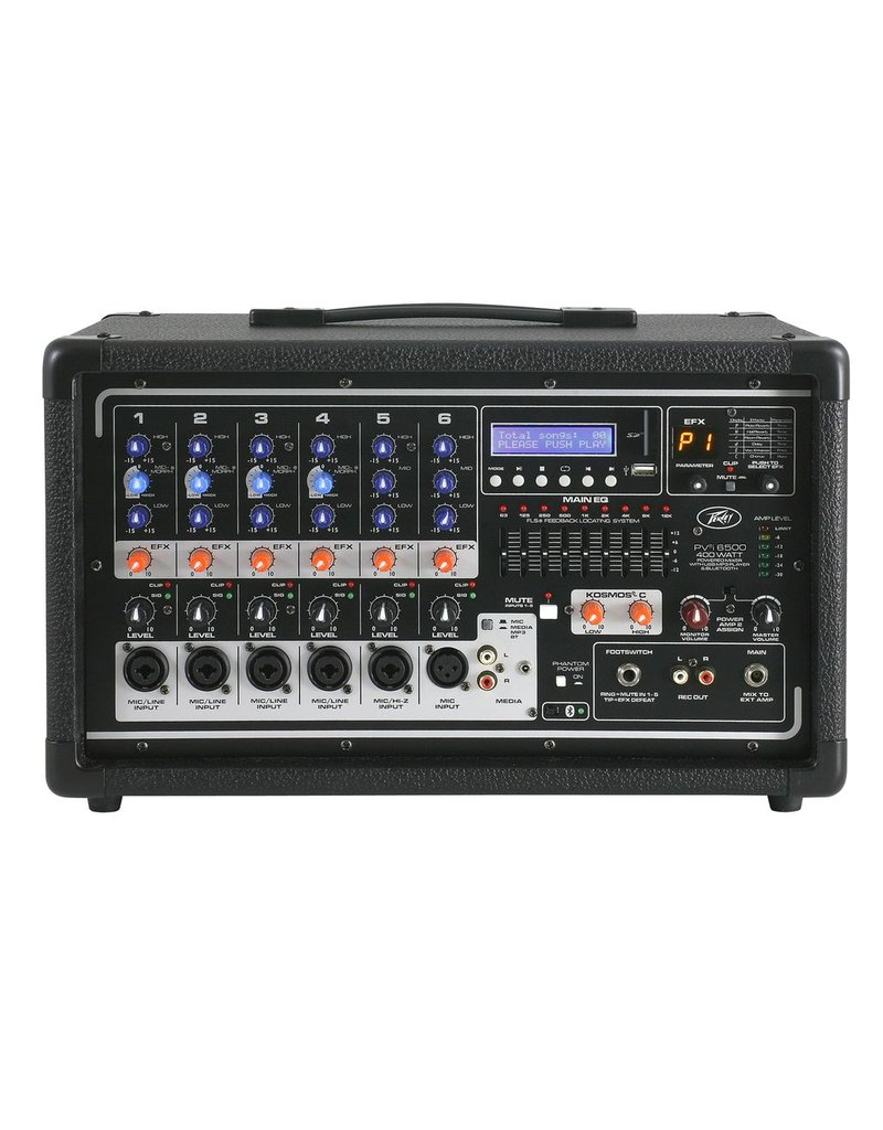 Peavey Peavey PVi 6500 Powered Mixer with BlueTooth