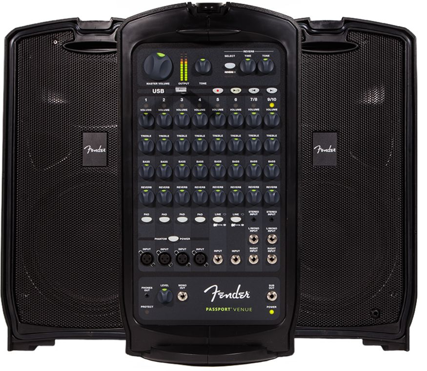 Fender Fender Audio Passport Venue-600 Watt 10 Channel Sound System