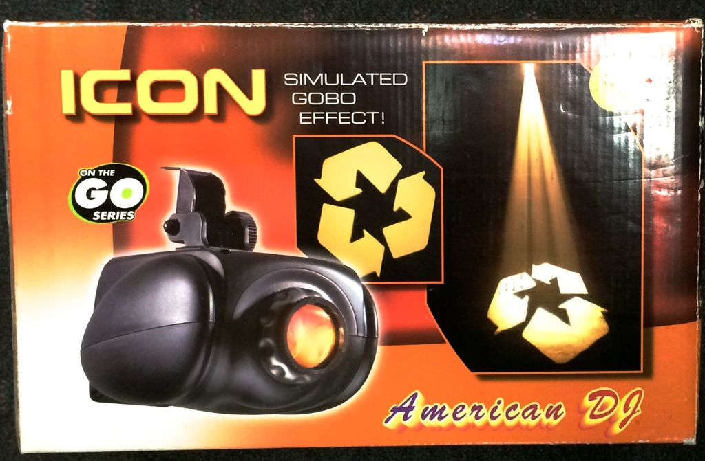 American DJ Icon Gobo Effect Light