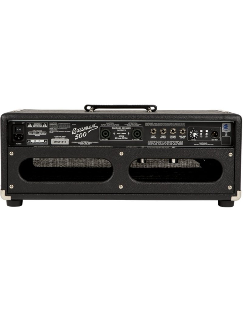 Fender Bassman 500 HD 500 Watt Bass Amp Head