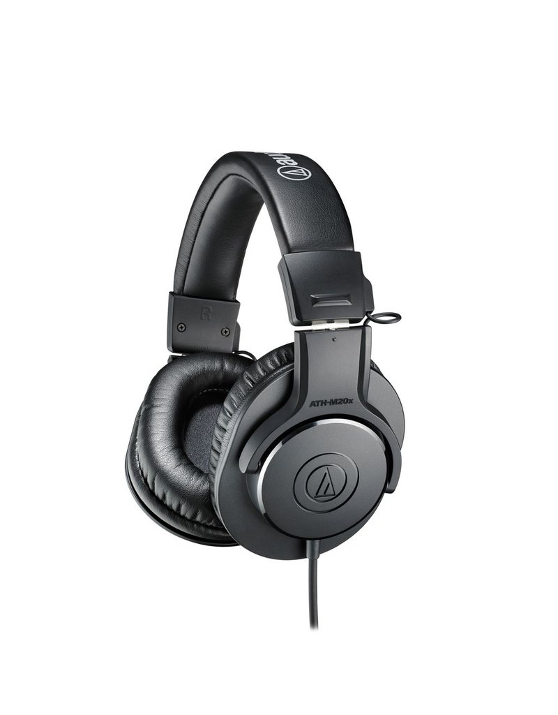 Audio Technica Audio-Technica ATH-M20x Professional Headphones-Black