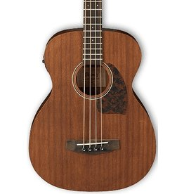 Ibanez Ibanez PCBE12MH 4 String Acoustic-Electric Bass-Open Pore Natural