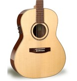 Simon and Patrick Showcase Folk Rosewood A6T Acoustic-Electric Guitar w/TRIC Case