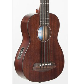 Kala UBASS Rumbler 4 String Acoustic Electric Uke Bass-Satin Brown