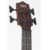 Kala UBASS Rumbler 4 String Acoustic Electric Uke Bass-Satin Brown