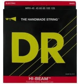 DR MLR-45 Hi-Beam Stainless Steel Round Core Bass Strings-Medium/Light