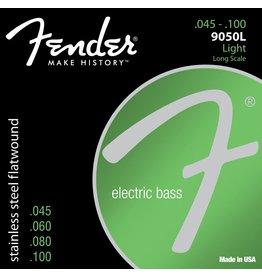 Fender 9050L Stainless Steel Flatwound Bass Strings - Light