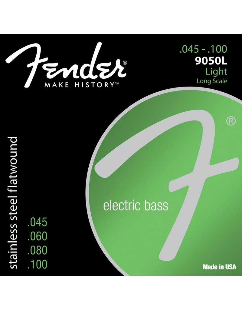 Fender 9050L Stainless Steel Flatwound Bass Strings - Light