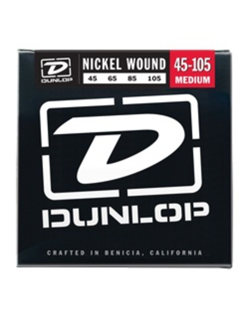 Dunlop DBN45105 Nickel Wound Bass Strings - Medium
