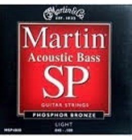 Phosphor Bronze MSP4800 Acoustic Bass Strings, Light Gauges .045-.100, Set of Four