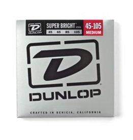 Dunlop Super Bright Stainless Steel Bass Strings - Medium