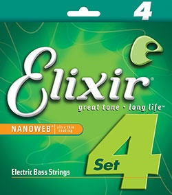Nanoweb 14052 Bass Strings, Long Scale, .045-.100 Gauges, Set of Four