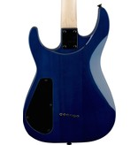 Jackson Jackson JS32TQ Dinky Electric Guitar- Transparent Blue