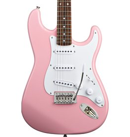 Squier Bullet® Strat® with Tremolo, Rosewood Fingerboard, Pink