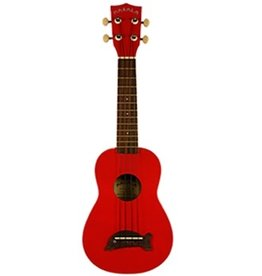 Kala Makala MK-SD/CAR Dolphin Soprano Ukulele-Candy Apple Red