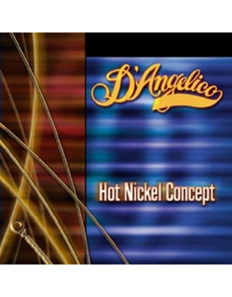 D'Angelico Hot Nickel Concept Light Electric Guitar Strings (010-046)