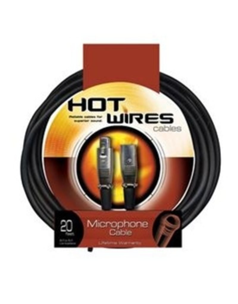 Hot Wires 20' XLR Mic Cable