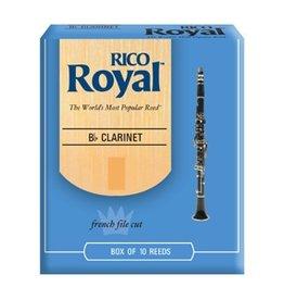Rico Royal Bb Clarinet Reeds Box of 10