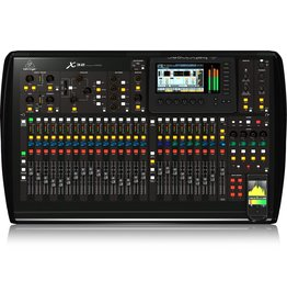 """40 Input, 32 Programmable Mic Preamps, 25 Motorized Faders, & 7"""" Color Display"""