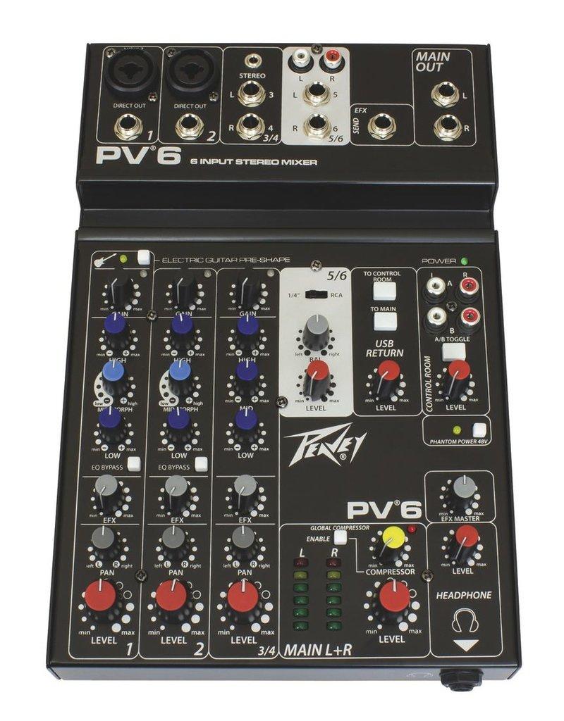 Peavey Peavey PV 6 Mixer