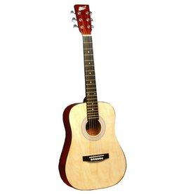 "Indiana Runt 34"" Acoustic Guitar-Natural"