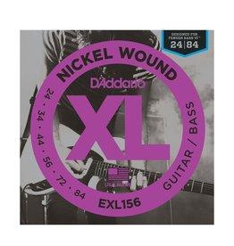 D'Addario EXL156 Fender Bass VI Nickel Wound