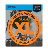 D'Addario EXL110-7 Nickel Wound 7-String Electric Guitar - Regular Light