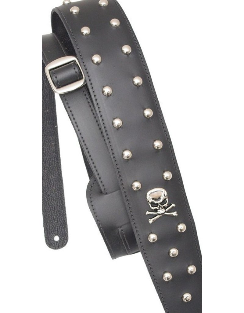 LM The Punisher Leather Guitar Strap