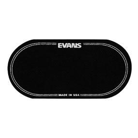 Evans EQ Black Nylon Double Patch