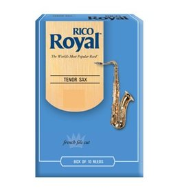 Rico Royal Tenor Sax Reeds Box Of 10