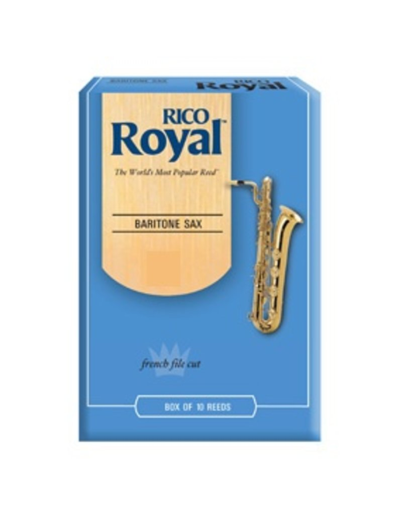 Rico Royal Baritone Sax Reeds Box Of 10