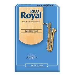 Rico Royal Baritone Sax Reeds Box Of 10