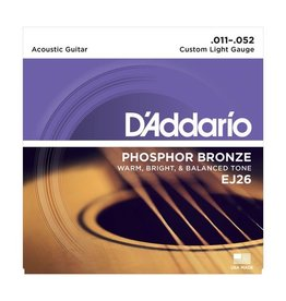 .011-.052 Custom Light Guages Phosphor Bronze