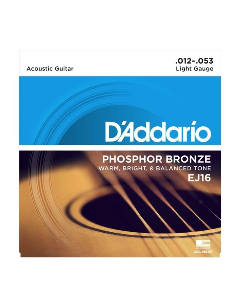 .012-.053 Light Guage Phosphor Bronze