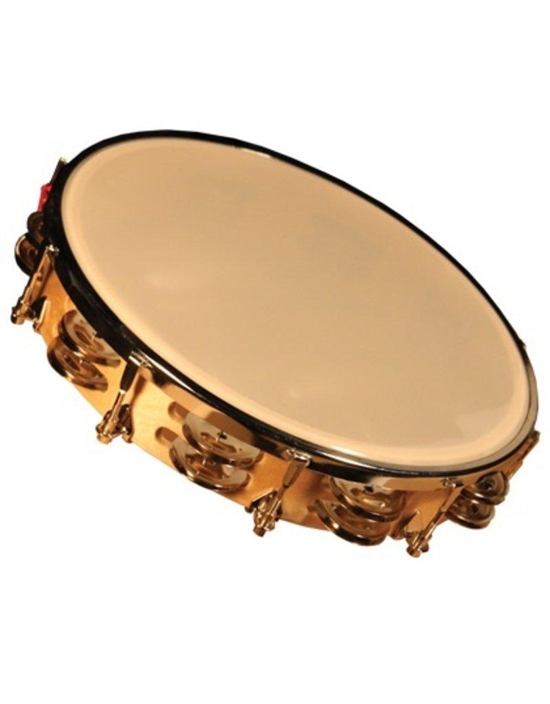 """GP 10"""" Tunable Tambourine"""