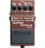 Boss OC-3 Super Octave Guitar Or Bass Effects Pedal