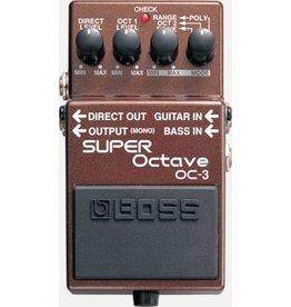 Boss OC-3 Super Octave Guitar Or Bass Effects Pedal
