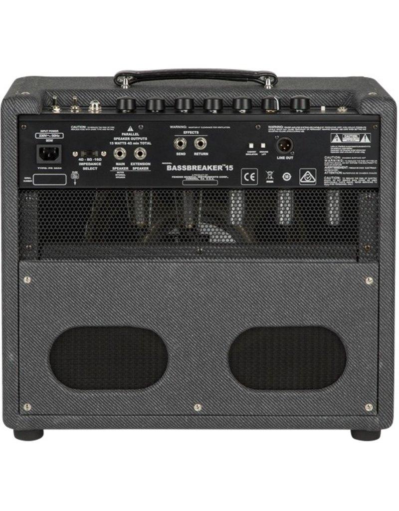 Fender Bassbreaker 15watt Tube Guitar Combo Amp
