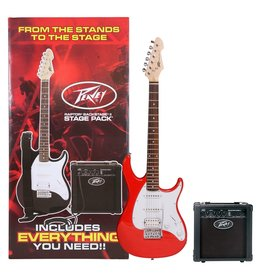 Peavey Package Includes: Transtube Backstage Amp, Guitar Cable, Gig Bag, Guitar Strap, Digital Tuner, Extar Set of String, Picks, And Instructional DVD